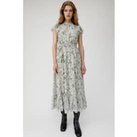 VINTAGE FLOWER CHIFFON DRESS (アイボリー)