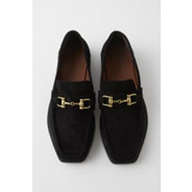 F/SUEDE BIT LOAFER (ブラック)