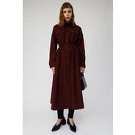 LONG SHIRT DRESS (ボルドー)