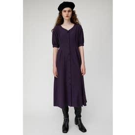 WAIST TUCK LONG DRESS (パープル)