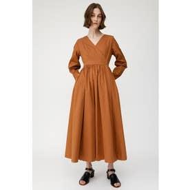 CACHECOEUR LONG DRESS (ブラウン)