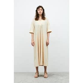RELAX V/N FLARE DRESS (エクリュ)