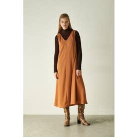 SLEEVELESS DRAPY DRESS (ベージュ)