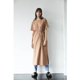 CUT LONG DRESS (ライトオレンジ)