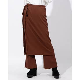 LAYERD PANTS (ブラウン)