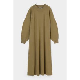 COCOON SLEEVE C/N KNIT ドレス L/GRN1