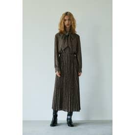 LEOPARD BOW TIE ドレス 柄BRN5