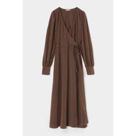 CACHE COEUR STRIPE ドレス D/BRN3