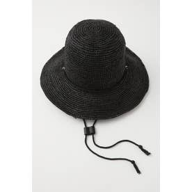 FARMERS STRAW ハット BLK