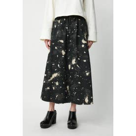 BLEACH PRINTED スカート 柄BLK5
