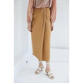 FRONT TUCK PENCIL スカート CAM