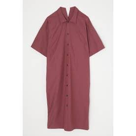 BACK LACE UP SHIRT ドレス PUR