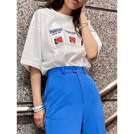 MOUSSY TAGS Tシャツ WHT