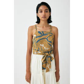 FLORAL WAVE CAMI ブラウス CAM