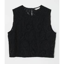 CHEMICAL LACE トップス BLK
