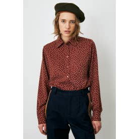 DOT PATTERN CLASSIC シャツ 柄RED5