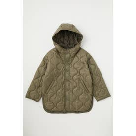 HOODED QUILTED ポンチョ L/KHA1