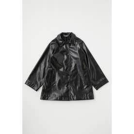GLOSS F/LEATHER MIDDLE ジャケット BLK