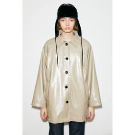 GLOSS F/LEATHER MIDDLE ジャケット BEG