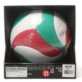 ジュニア バレーボール 試合球 フリスタテック バレーボール 検定球 V4M5000-L
