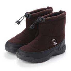 4cm防水防滑ブーツ (BROWN)