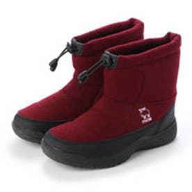 4cm防水防滑ブーツ (WINE)