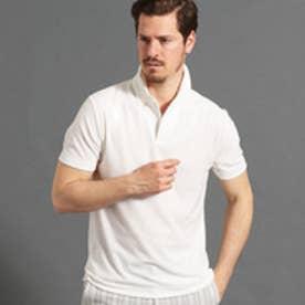 パイルスキッパーポロシャツ (09ホワイト)