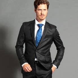 ストライプ柄スーツ (49ブラック)