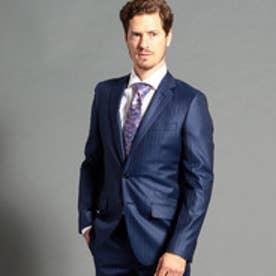 ストライプ柄スーツ (60ブルー)