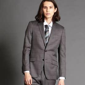シャドーウィンドーペン柄スーツ (29グレー)