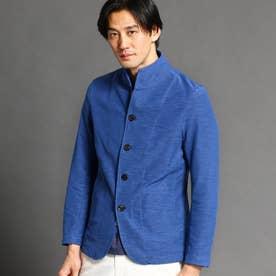 スタンドカラージャケット (60ブルー)