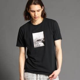 アラカルトプリントTシャツ (49ブラック)