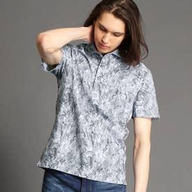 鹿の子ポロシャツ (09ホワイト)