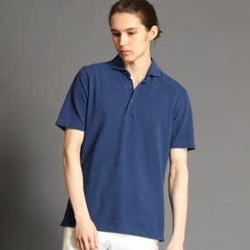 鹿の子ポロシャツ (60ブルー)