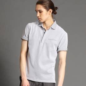 ハニカムポロシャツ (19ライトグレー)