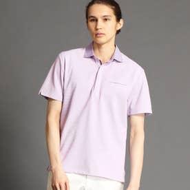 ハニカムポロシャツ (88ラベンダー)