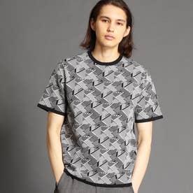 【ex/tra】クルーネックニットTシャツ (49ブラック)