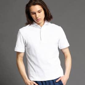 【ex/tra】パイルポロシャツ (09ホワイト)