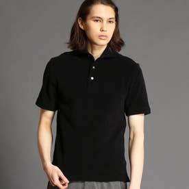 【ex/tra】パイルポロシャツ (49ブラック)