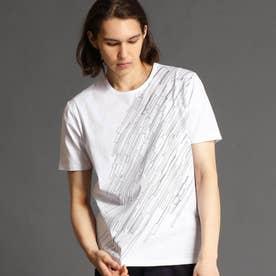 グラフィックプリントTシャツ (09ホワイト)