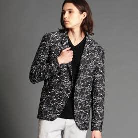ハイテンションプリントジャケット (49ブラック)