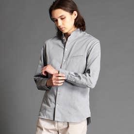 スタンドカラードビーシャツ (29グレー)