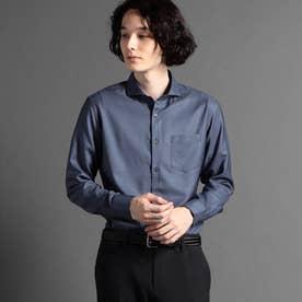 OXIJEWELカッタウェイカラーシャツ (66ブルーグレー)