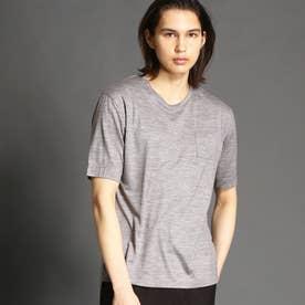 【ex/tra】クルーネックTシャツ (19ライトグレー)