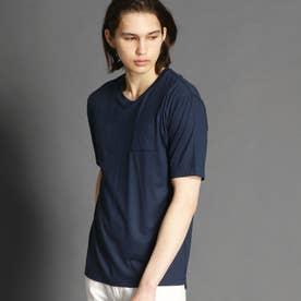 【ex/tra】クルーネックTシャツ (60ブルー)