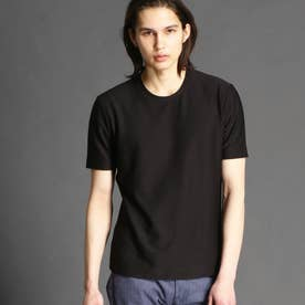 【ex/tra】ジャカードハニカムTシャツ (49ブラック)