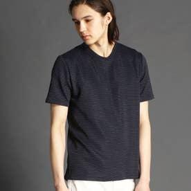 タックボーダーTシャツ (60ブルー)