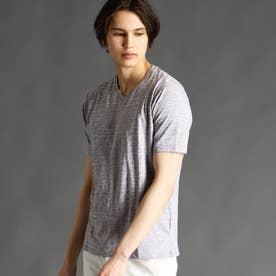 【ex/tra】VネックTシャツ (19ライトグレー)