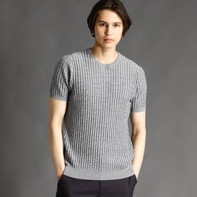 クルーネックニットTシャツ (29グレー)