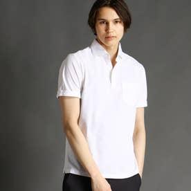 【ex/tra】サーフニットポロシャツ (09ホワイト)